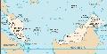Malajzia térkép