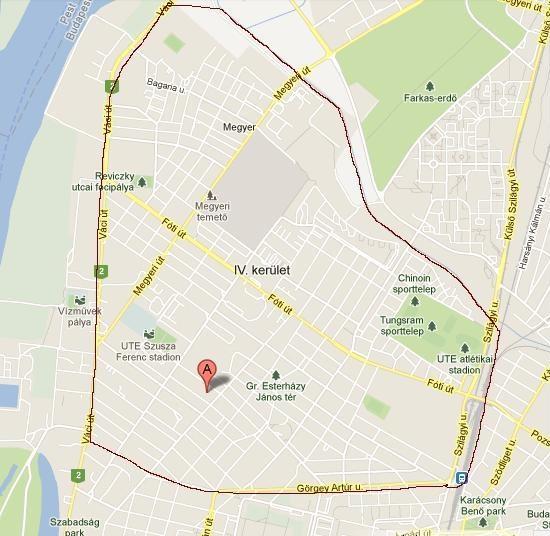 újpest térkép Parókia Portál újpest térkép