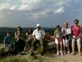 Gyülekezeti kirándulás 2011 - a siroki várnál.jpg